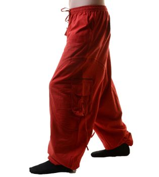 Unisex Psy Baggy Pants Hippie Pants Goa Cotton Dance Wear – Bild 8