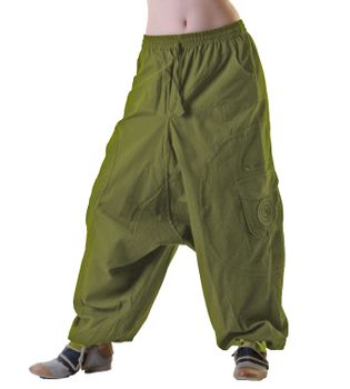 Unisex Psy Baggy Pants Hippie Pants Goa Cotton Dance Wear – Bild 5