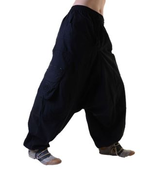 Unisex Psy Baggy Pants Hippie Pants Goa Cotton Dance Wear – Bild 3