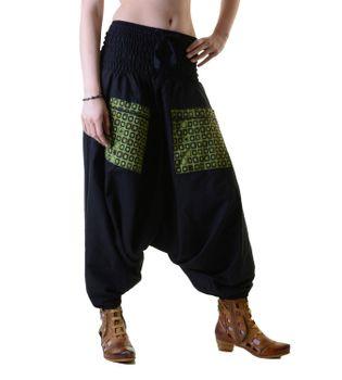 Harems pants in light cotton fabric - beach pants, wellness pants – Bild 3