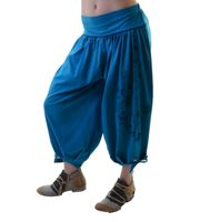 Ibiza Wellness Pants Harem Pants Yoga Pants - Cotton Fabric