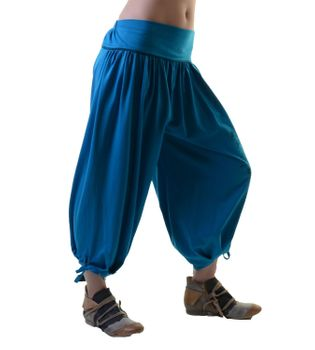 Ibiza Wellness Pants Harem Pants Yoga Pants - Cotton Fabric – Bild 2