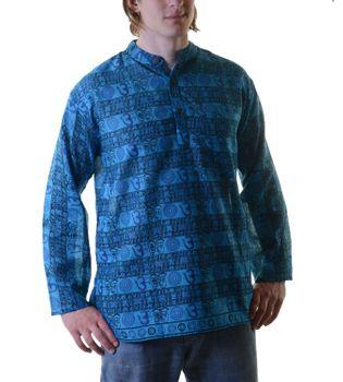 OM Fischerhemd Überzieher Hemd Kurtha – Bild 3