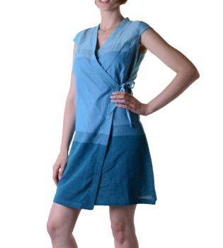 Wickelkleid Tibet Minikleid Tunika Hippie Goa Sommerkleid mehrfarbig – Bild 4