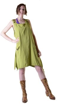 Alternative Tunika Hippie Goa Lagenlook Minikleid – Bild 10