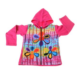 Funny Gnome Jacket with Hood Fantasy Flowers – Bild 2