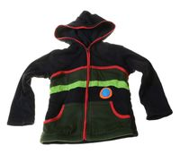 Kids Hippie Jacket with Funny Elfin Hood Patchwork 001