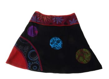 Summer Hippie Goa Patchwork Dance Skirt – Bild 4