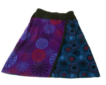 Goa Skirt Patchwork Dance Skirt with Great Colors – Bild 1