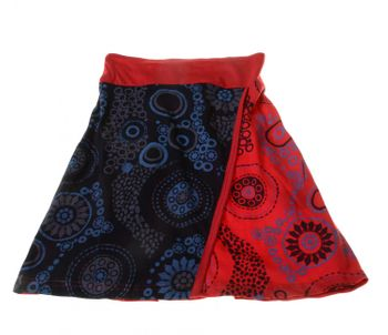 Goa Skirt Patchwork Dance Skirt with Great Colors – Bild 4
