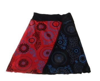 Goa Skirt Patchwork Dance Skirt with Great Colors – Bild 3