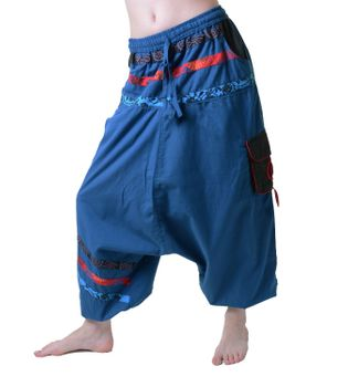 Psy Sarouel Baggy Pants Hippie Hose Goa Cotton Dance Wear – Bild 1