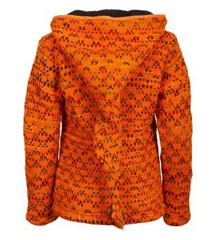Colorful cardigan sweater with detachable hood - Goa Nepal ladies jacket – Bild 2