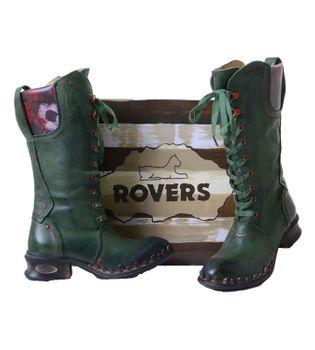 Rovers 42005 Bandolero kiwi - Grüner Damenstiefel mit Reißverschluss – Bild 2
