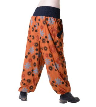 Aladdin Pants Hippie Pants Goa Cotton Harem Pants Orange – Bild 2