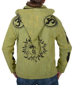 Hippie Men Knit Jacket in Great Colors – Bild 4