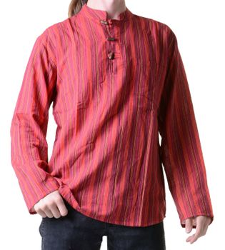 Fisherman Shirt Kurtha Striped Shirt Poncho Medieval Nepal – Bild 6