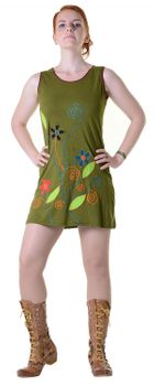 Minidress Longshirt Tunic Hippie Summerdress – Bild 3