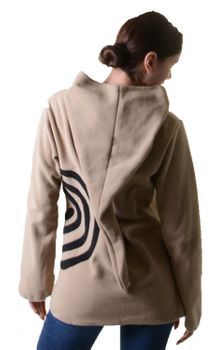 Extravagant Goa Fleece Sweater with Elfin Hood – Bild 21