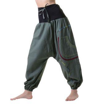 Bequeme Hippie Hose Goa Baumwoll Tanzhose – Bild 4