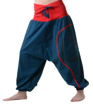 Comfortable Hippie Goa Pants with Pocket – Bild 1