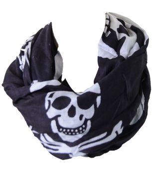 Kunst und Magie Skull Pirate Tuch Schal – Bild 2