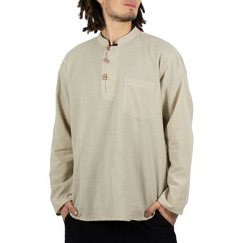 Mens Fisherman Shirt Baja Nepal – Bild 2