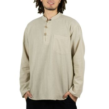 Mens Fisherman Shirt Baja Nepal
