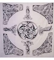 Tagesdecke Wandbehang Keltisches Motiv 001