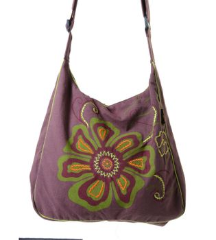 Alternative Ethno Hippie Handbag Shoulder Bag with Great Embroidery – Bild 2