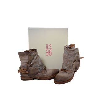 A.S.98 Ladies Leather Bootee Rino Rino