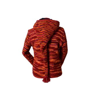 Wool Jacket Hippie Goa with Detachable Elfin Hood – Bild 2