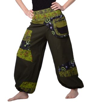 Colorful Hippie/ Cotton Pants - Ibiza Beach/ Wellness Pants – Bild 1