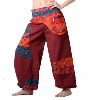 Colorful Hippie/ Cotton Pants - Ibiza Beach/ Wellness Pants – Bild 6