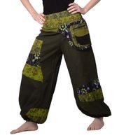 Colorful Hippie/ Cotton Pants - Ibiza Beach/ Wellness Pants 001