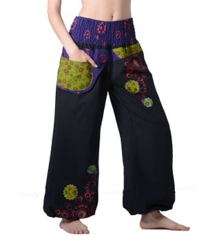 Colorful Hippie Pants - IBIZA Beach Pants/ Wellness Pants – Bild 1