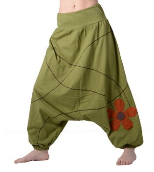 Ibiza Wellness Pants Harem Pants Cotton Pants  – Bild 1