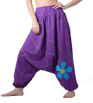 Ibiza Wellness Pants Harem Pants Cotton Pants  – Bild 4