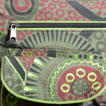 Goa Shoulder / Fanny Pack Belt Pouch Belly Belt Hippie Psy – Bild 8