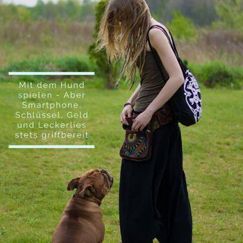 Kunst und Magie Goa Schulter / Bauchtasche Gürteltasche Bauchgurt Hippie Psy – Bild 12