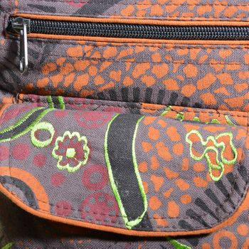 Goa Shoulder / Fanny Pack Belt Pouch Belly Belt Hippie Psy – Bild 11