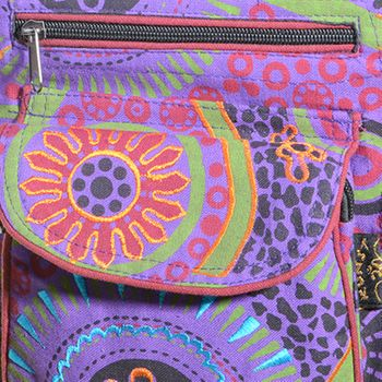 Goa Shoulder / Fanny Pack Belt Pouch Belly Belt Hippie Psy – Bild 17