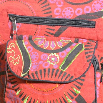 Goa Shoulder / Fanny Pack Belt Pouch Belly Belt Hippie Psy – Bild 24