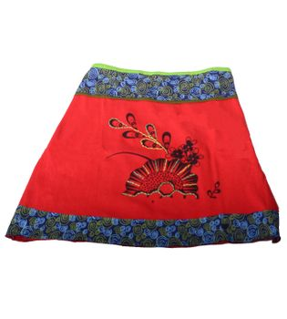 Mini Skirt in Great Summer Colors - Goa Patchwork – Bild 6