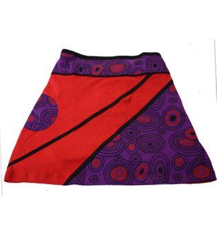 Mini Skirt in Great Summer Colors - Goa Patchwork – Bild 7