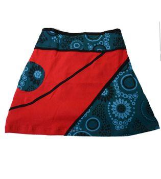 Mini Skirt in Great Summer Colors - Goa Patchwork – Bild 9