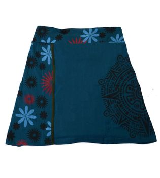 Summer Skirt with Maya Pattern - Short Hippie Skirt – Bild 2