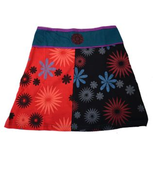 Summer Goa Hippie Mini Skirt - Patchwork – Bild 4