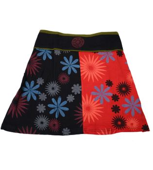 Summer Goa Hippie Mini Skirt - Patchwork – Bild 6