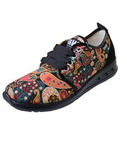 Break & Walk Hippie Sneakers with Paisley Pattern